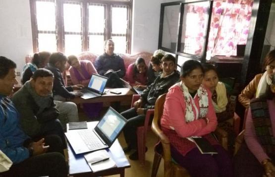 ICT Training का केही झलकहरु